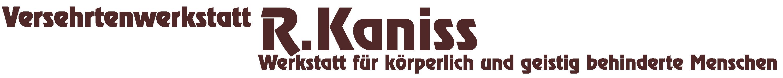 Versehrtenwerkstatt R. Kaniss